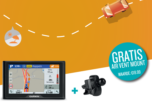 garmin drive 51 eu lmt s air vent mount auto gps. Black Bedroom Furniture Sets. Home Design Ideas