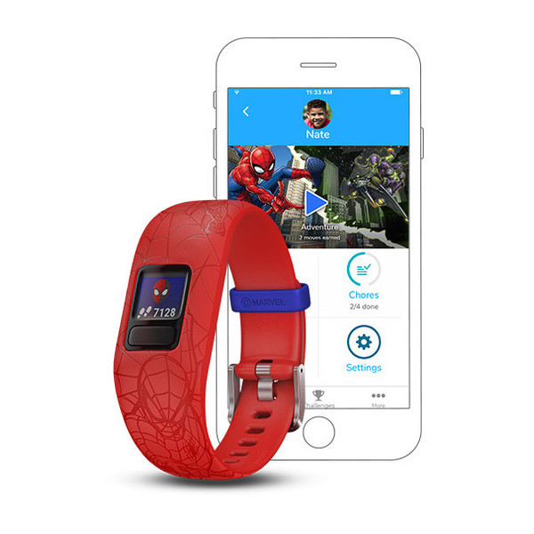 Garmin vivofit  jr 2 Spider-Man rood