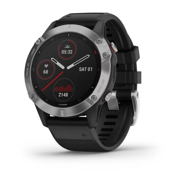 Garmin fenix 6 Silver-Black Band