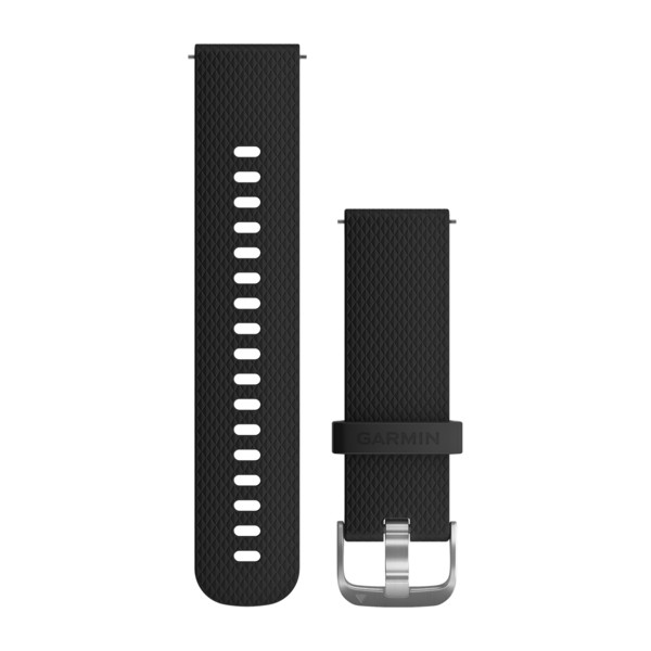 vivoactive 3 Band Black Silicone Stainless Hardware