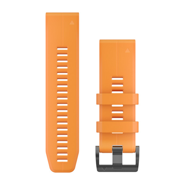 fenix 5X Plus 26mm QuickFit Spark Orange Silicone