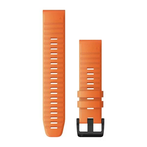 Quickfit 22mm Ember Orange Silicone Band
