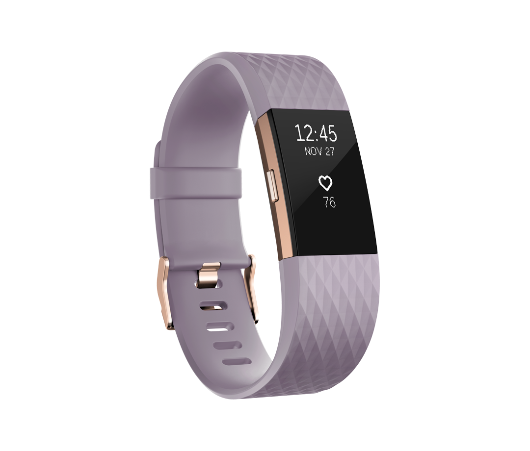 Fitbit Charge HR 2 roze goud - large